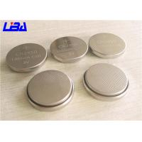 China 600mAh Button Cell Battery , Environment Friendly 3 Volt Lithium Coin Battery wholesale