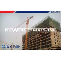China Frequency-converting top slewing tower crane for building construction 1200KN.M wholesale
