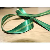 China Smooth Soft Satin Tape Sewing Invisible Zipper , Custom Silk Dress Metal Coat Zippers wholesale