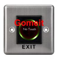 China Stainless Steel No Touch Exit Switch / Door Button wholesale