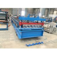 China Trim Deck Profile Roof And Wall Cladding Roll Forming Machine for South America market wholesale