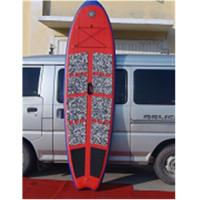 China Red Inflatable Sup Touring Boards , Lightweight Fishing Stand Up Paddle Board wholesale