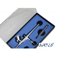 China Portable Dual Action130B Airbrush With 7cc Cup and  plastic dropper wholesale