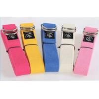 China Yoga Strap Stretches For Shoulders , Hamstring Stretch With Strap wholesale