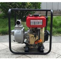 Buy cheap Portable diesel engine water pump Manual Start 22m Rated Lift 2.5L Fuel Capacity from wholesalers