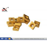 China CCMT120408 Hard Metal Cemented Carbide Cutting Inserts For Lathe Holder wholesale