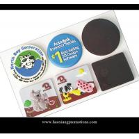 China Custom Logo Low MOQ Round Shape Promotional Gift Cork Coaster Single Packed wholesale