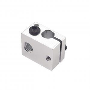 China E3D V6 White Aluminum 8g 3D Printer Heater Block 20*16*12mm wholesale