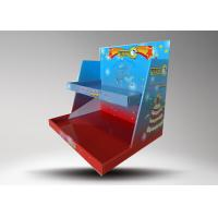 China Custom logo Colorful Retail Display Stands / Candle Display Racks With 2 Tiers wholesale