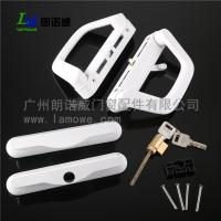China High Quality uPVC US America Sliding Patio Door Handle with mortise lock wholesale