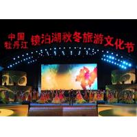 China Ultra Clear P4.81 Slim Concert Led Screen , High Resolution Large Events Led Display wholesale