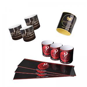 Custom Hair Extension Security Seal Label , Hair Bundle Labels