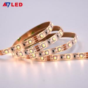 China Adled light led ribbon light smd 2835 leds 12v 24v IP65 dual white color changing cct led strip wholesale