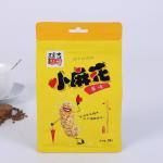 China Kraft Paper Tea Coffee Food Packaging Bags Heat Seal With Clear Window wholesale