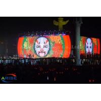 China P4.81 1800cd LED Stage Display Advertising Boards 500x1000mm Size Stage Background Led Scr on sale
