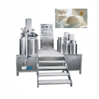 China Cosmetic Mixer Machine	45KW 200L 316L Vacuum Homogenizer Cream Mixer For Lotion wholesale