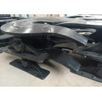 China Cast Steel Bidirectional Trailer Fifth Wheel With 50mm / 90mm Towing Pins wholesale