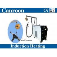 Canroon 10-50kw induction heating machine for metal hardening brazing annealing with built-in chiller