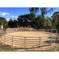 China 16 Portable Horse Stall Panels round Yard, Cattle Fences, Corral 11m diameter wholesale