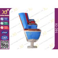 China Air Bus Boeing Air Craft Type Folding Table Theatre Seating Chairs By Aluminum Alloy Structure wholesale
