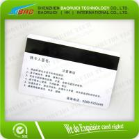 China lamination Hico magnetic strip card on sale