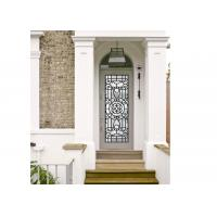 China Agon Filled 22*64 Inch Size Frosted Door Glass Panels Durable Interior Decoration wholesale