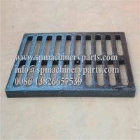 China Class E600 duracoated extra heavy-duty 12 x 24 [305mm x 610mm] cast iron grate in frame from china wholesale
