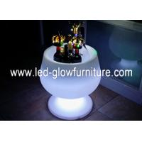 China Eco - Friendly Waterproof LED Ice Bucket With 16 Colors Changing for Wedding , Pool wholesale