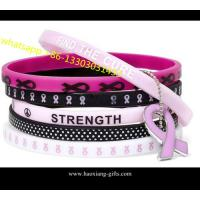 Quality Hot Sale! No Minimum Custom Debossed and Ink Filled 1 Inch Silicone Wristband for sale