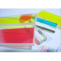 China Colored Short Pass Edge Optical Filters Custom Optics Lasing Safety / Ultraviolet Light Source wholesale