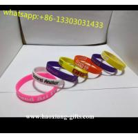 China Factory direct sales eco-friendly fashion engraved flower silicone bracelet wholesale