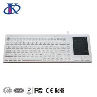China Silicone Waterproof backlit keyboard with 2-in-1 touchpad and number pad wholesale