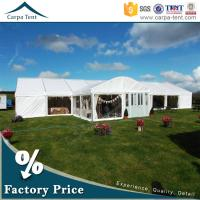 Quality Large Party Tent Anti-UV White Tents for Outdoor Party Functions for sale