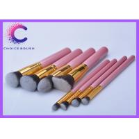 China Cute high end Soft pink makeup brush sets , makeup tools set wholesale