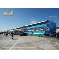 China Aluminum Frame Double Decker Marquee Tents PVC Roof Cover No Pole Inside wholesale