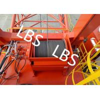 China General - Purpose Spooling Device Winch With Lebus Groove / Bridge / Overhead Crane wholesale