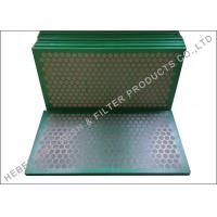 Buy cheap Higher Conductance Shake Screen , Mud Cleaner SS 304 Shale Shaker Mesh Screen from wholesalers