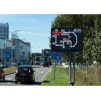 China Electronic Digital Message Centers Variable Traffic Signs 960mm X 960mm on sale