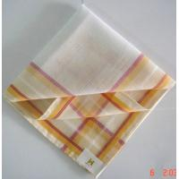 China men cotton white handkerchief on sale
