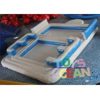 China Customzied Water Floating Island Inflatable Floating Bar With Tent wholesale