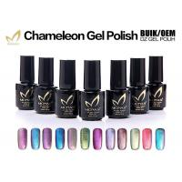 China Chemical Free Magnetic Chameleon Gel Nail Polish Nail For Art Salon Odorless wholesale