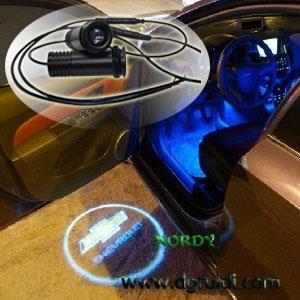 China New Car Door logo Light Laser  3W auto logo Ghost Shadow light BMW Audi Ford wholesale