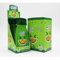 China 16g Sugar free mint candy / Green Orange Flavor with Vitamin C / portable sachat package wholesale