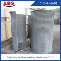 China Double Grooved Lebus Sleeve For Multilayer Spooling , 10-50mm Rope Dia wholesale
