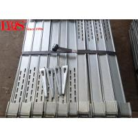 China Heavy Duty Formwork Column Clamps Steel Bar With 9mm Thickness Groove wholesale