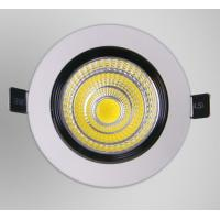 Buy cheap COB 3 w LED ceiling lamp White reflective glass downlight COB day cylinder lamp from wholesalers