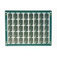Buy cheap Blue Soldermask White Silkscreen FR4 Electronic Printed Circuit Board for Mobilephone from wholesalers