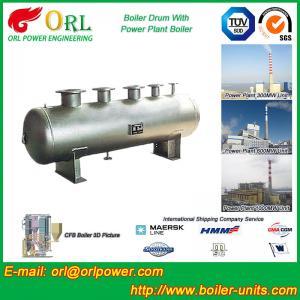 China Low Pressure Alloy steel drum Boiler Mud Drum TUV with 10~1000ton wholesale