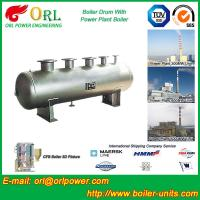 China Reduce emissions gas steam boiler mud drum TUV wholesale
