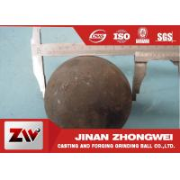 China 58-64 HRC Grinding Media Balls for metal mine , power station , cement plant wholesale